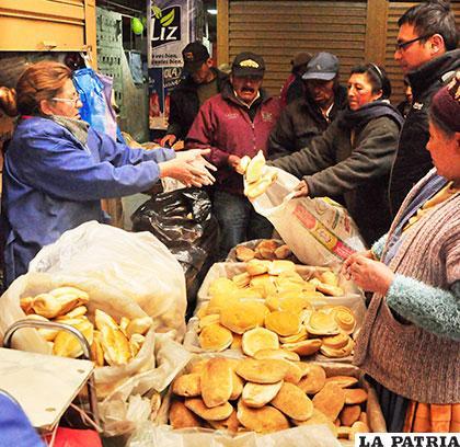 Con el incremento de la harina el precio del pan podría elevarse /Archivo