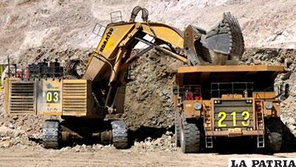 Gardeazaval insistió en que hay sectores que pretenden hacerse de yacimientos listos para su explotación /ERBOL