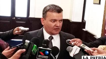 Ronald Nostas, presidente de CPEB /ERBOL