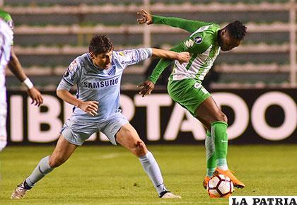 En el partido de ida en La Paz, Bolívar venció 1-0 el 5 de abril  /APG