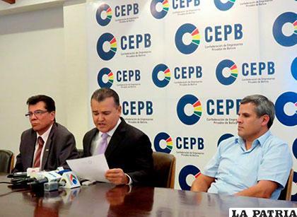 Nostas afirmó que el proyecto de ley que estaba paralizado desde el año pasado, vulnera la seguridad jurídica del sector privado garantizado en la CPE /EL DIARIO