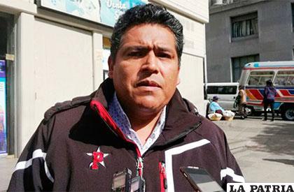 Vladimir Vega se pronunció desde La Paz /ERBOL