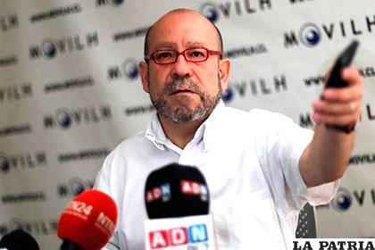 El vocero del Movimiento de Integración y Liberación Homosexual (Movilh), Rolando Jiménez /Llave en mano 3.0