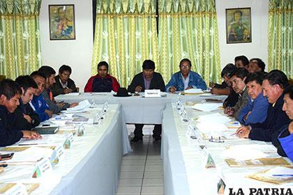 En la reunión de Consejo Central donde se aprobó el inicio de campeonato