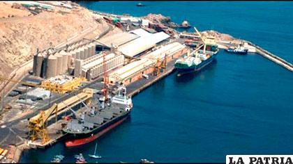 El puerto de Ilo se abre como una puerta al progreso para el país /ABI
