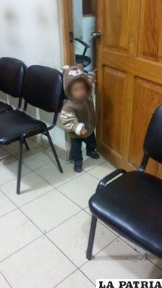 El niño fue puesto a buen resguardo /LA PATRIA