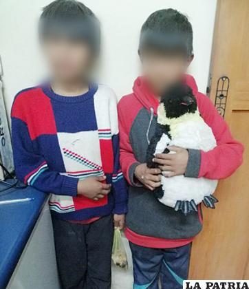 Los niños habrían estado fuera de su hogar por dos días /LA PATRIA