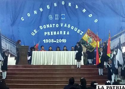 El festejo fue en el hall de la Gobernación/ LA PATRIA
