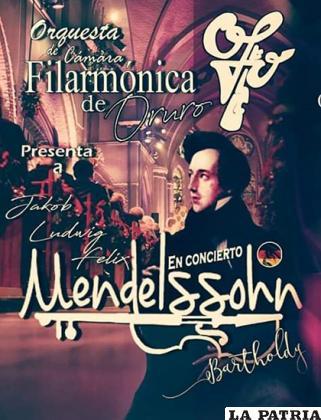 Orquesta de Cámara de la Filarmónica de Oruro se presenta en concierto gratuito/LA PATRIA