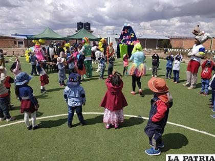 El festejo se realizó en el parque vial / LA PATRIA