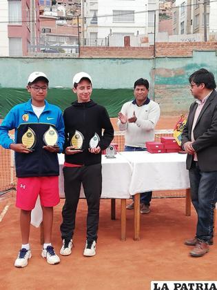 Gabriel Lara y Lucas Trigo ganaron en varones/ OVIDIO CAYOJA LA PATRIA