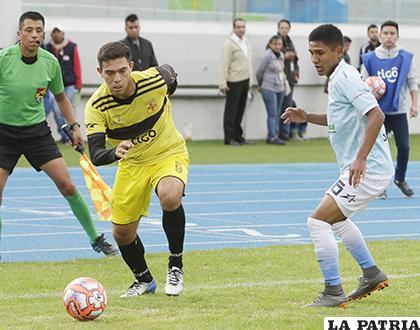 En el partido jugado en Cochabamba el 2/2/2019 Aurora venció 2-0 / APG