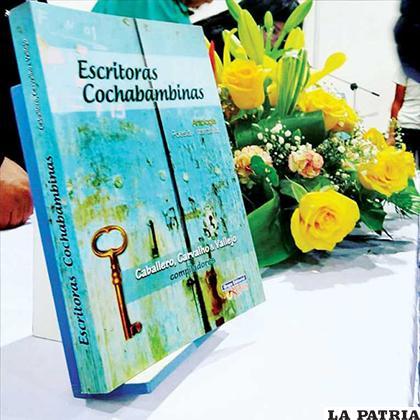Antología de poesía y prosa de escritoras cochabambinas