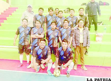 El equipo de Ende S&C es el actual líder del torneo de futsal  /LA PATRIA /archivo
