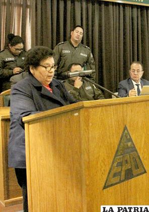 La presidenta de la FEPO, expresó su preocupación por sus similares /LA PATRIA /ARCHIVO