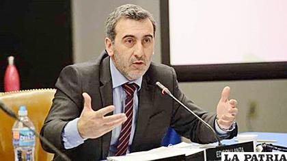 El relator especial para la Libertad de Expresión de la CIDH, Edison Lanza /El Universo