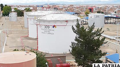 Tanque donde se almacena la gasolina /LA PATRIA