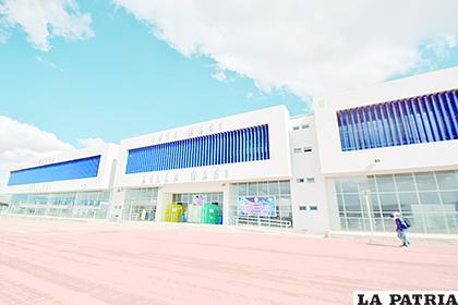 El Campo Ferial ni siquiera fue inaugurado como tal pues el coronavirus llegó antes /LA PATRIA