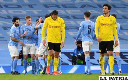 Manchester City gana 2-1, pero deja la llave abierta /milenio.com