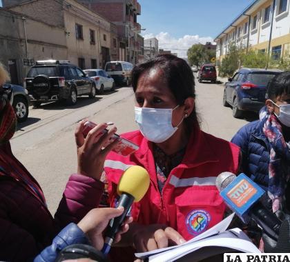Responsable del PAI, Juana Vera /LA PATRIA