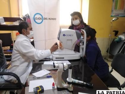 """""""Ojos del Mundo"""", una entidad que viene trabajando por años en Oruro /RRSS"""