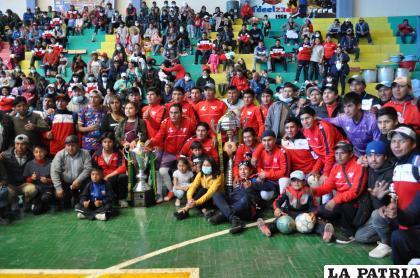La Salvadora cuatro veces campeón del torneo interdirigentes /LA PATRIA