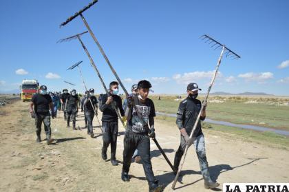 Varias entidades se pusieron manos a la obra, entre ellos jóvenes entusiastas  /LA PATRIA