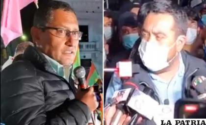Oscar Montes y Álvaro Ruiz se declararon ganadores en Tarija /RR.SS.