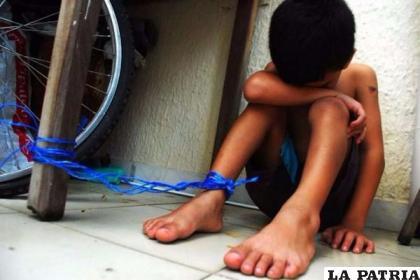 Basta de violencia contra los niños, ellos requieren amor y comprensión