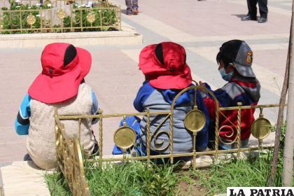 Defensoría pide a las autoridades trabajar en favor de los niños quienes merecen un mejor trato /LA PATRIA