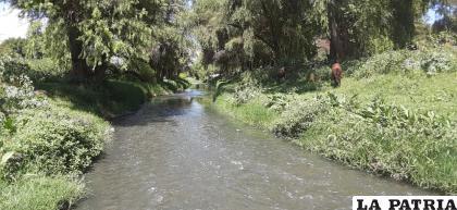 El río Rocha comenzó a mostrar un aspecto mucho más limpio /¡Oruro te quiero limpia!