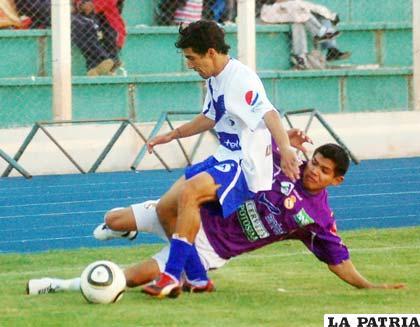 Maximiliano Andrada, autor del gol del empate