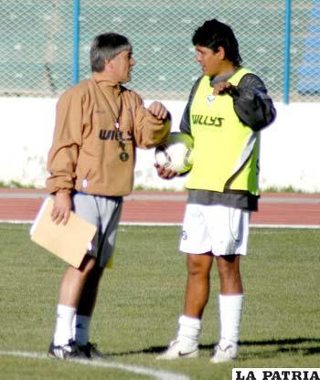 Zuleta instruye a Palacios