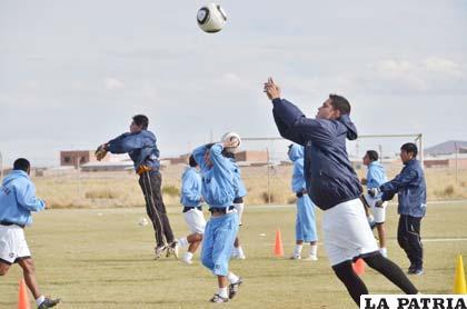 Carlos Vargas, está recuperado y con ganas de jugar el domingo