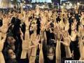 """El movimiento ciudadano """"Democracia real ya"""", congregó ayer en Madrid a más de 20.000 personas"""