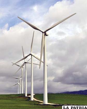 La energía eólica es uno de los sectores que está creciendo más rápidamente a nivel global