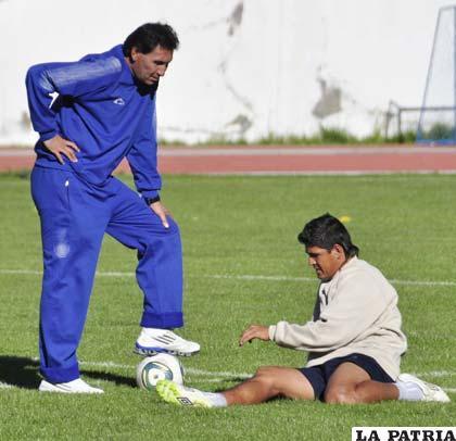 Marcos Ferrufino y Luis Palacios