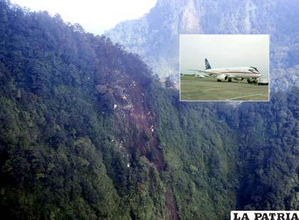 Fueron encontrados los cadáveres de pasajeros de un avión ruso que se siniestró el miércoles (Foto: voanoticias.com)