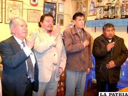 Posesión del directorio del comité electoral del club San José