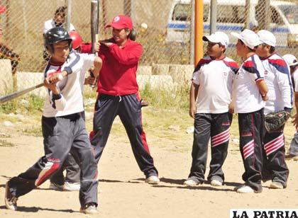 Beisbolistas orureños de la categoría Sub-12