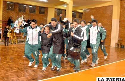 La Paz se consagró campeón del torneo