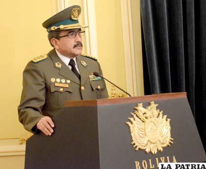 General Jorge Santiestéban Claure fue citado a declarar a la