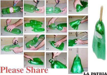 los materiales reciclables nos pueden proporcionar instrumentos de uso