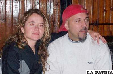 Marcelo Sozzani junto a su esposa viven en Argentina