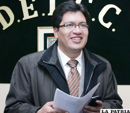 Aldo Ortiz, fiscal asignado al caso Unipol informó que este martes se