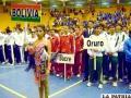 Inauguración de los juegos en Moquegua