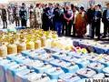 Efectivos de la Felcn incautaron 194 kilogramos de cocaína que ingresaron por el Perú y tenían como destino Santa Cruz /APG