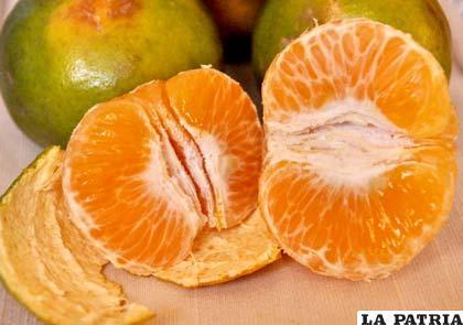 La mandarina reduce el riesgo de problemas cardiovasculares en niños que tienen colesterol alto