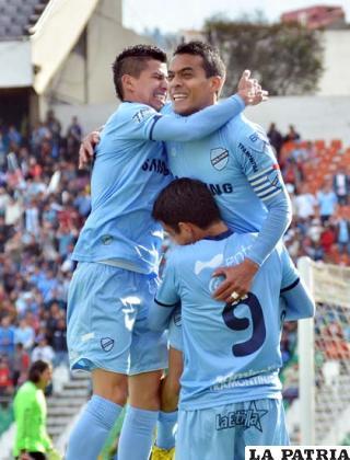 Arce, Ferreira y Campos celebran el triunfo de Bol�var