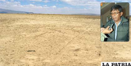 El secretario de Desarrollo Productivo, Teófilo Dávalos, informó que la Gobernación adquirió los terrenos en Cala Caja